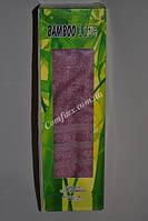 """Подарочное бамбуковое полотенце лицевое Bamboo Life """"Фиолетовый"""" 50х90  - Турция 2656"""