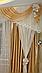 Ламбрекен Комби со шторами в зал, фото 3