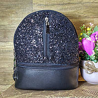 Рюкзак женский маленький черный VC G105