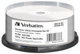 Диски Blu-Ray 25GB Verbatim 25шт. шпиндель  для печати  без ID Brand  (43738)