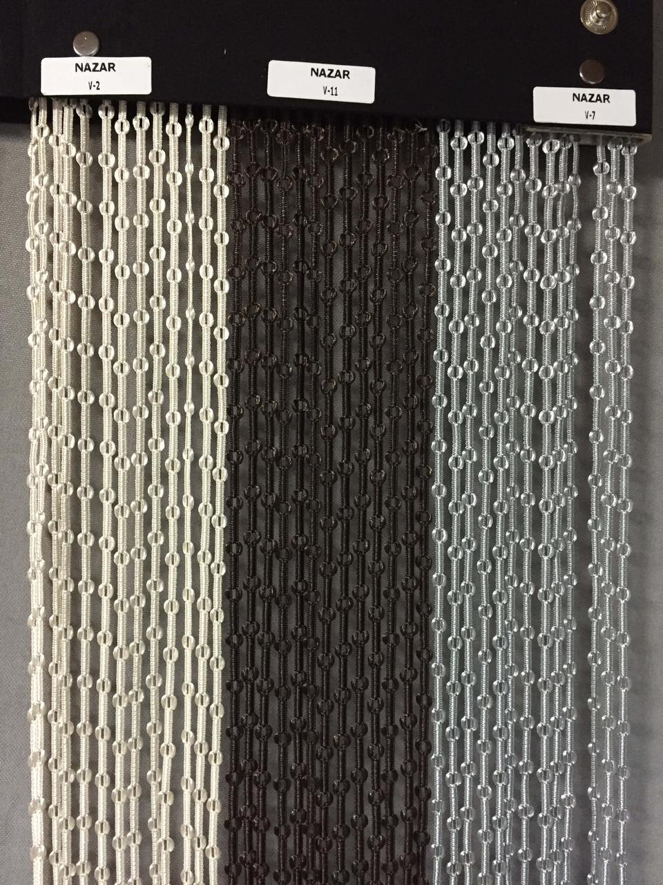 Штори нитки NAZAR 6 кольорів