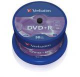 Диски DVD+R Verbatim 43550 50 шт. на шпинделе 4.7GB