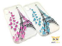 Силиконовый чехол Paris для iPhone X