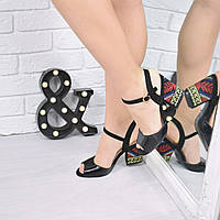 Босоножки женские Charmel черные  , женская обувь