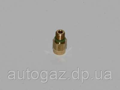 Штуцер входа газа редуктора Tomasetto АТ07 с кольцом уплотнительным резиновым (шт.)