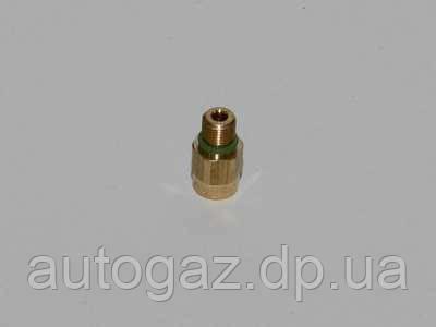 Штуцер входа газа редуктора Tomasetto АТ07 с кольцом уплотнительным резиновым (шт.), фото 2