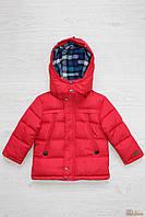 Куртка для мальчика с капюшоном (110 см)  No name 2125000503080