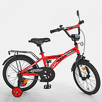 Велосипед детский 16 д T1631 со звонком,зеркалом,руч.тормоз