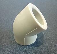 Колено ASG-plast 45 ° 25мм, фото 1
