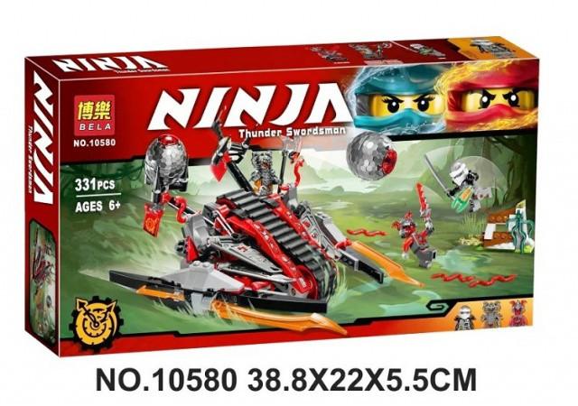 Конструктор Bela 10580 Ninja Ниндзя Ninjago Ниндзяго Алый захватчик 331 дет
