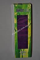 """Подарочное бамбуковое полотенце для лица Bamboo Life """"Фиолетовый"""" 50х90  - Турция 2661"""