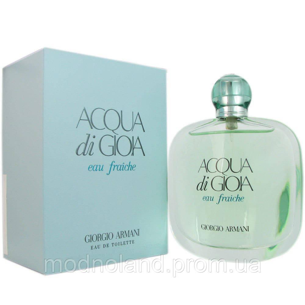 793110a02582 Женская туалетная вода Giorgio Armani Acqua di Gioia Eau Fraiche 100 ml  (Аква Ди Джоя