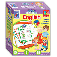 Игра VladiToys Уроки на магнитах VT1502-11 English Семья