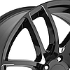 LORENZO WL36 Gloss Black with Milled Accents, фото 2