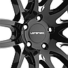 LORENZO WL36 Gloss Black with Milled Accents, фото 3