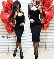 Платье черное нарядное