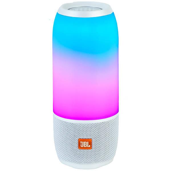 Bluetooth колонка JBL PULSE 2 в 1 Колонка + LED светильник White 6000 мАч Реплика