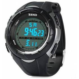 Skmei 10274 Многофункциональные светодиодные армейские часы 50м водонепроницаемые для спорта - серый титан