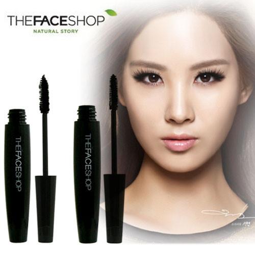Туш Для Вій The Face Shop Freshian big mascara 7 ml Чорна