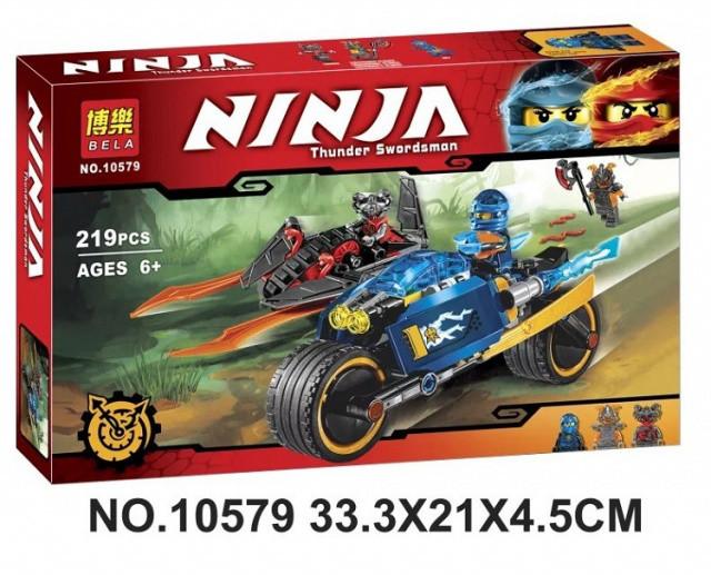 Конструктор Bela 10579 Ninja Ниндзя Ninjago Ниндзяго Пустынная молния 219 дет.