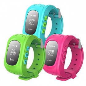Смарт часы Smart Baby Watch Q50 (blue, pink, green)