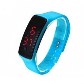 Наручные LED часы браслет DSC 612 разные цвета