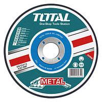 Абразивный режущий диск по металлу Total TAC2211152 115х3.2х22.2мм