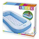 Детский надувной бассейн Intex 57403 166х100х28 см, фото 7