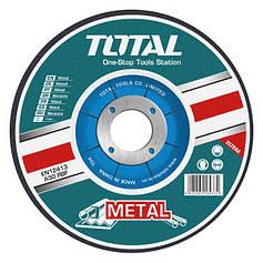 Круг отрезной по металлу TOTAL TAC2211251 125х3.0х22.2м