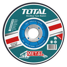 Круг отрезной по металлу TOTAL TAC2211253 125х1.2х22.2м