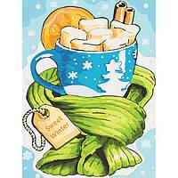 """Наборы для Рисования """"Сладкая зима"""" для взрослых и детей"""