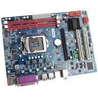 Intel P55 ATX LGA1156 DDR3 Компьютерная материнская плата 8 ГБ Двойной канал для проекта DIY Цветной