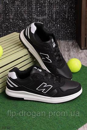 Мужские черные спортивные кроссовки! в наличии! новые! 44 р!, фото 2