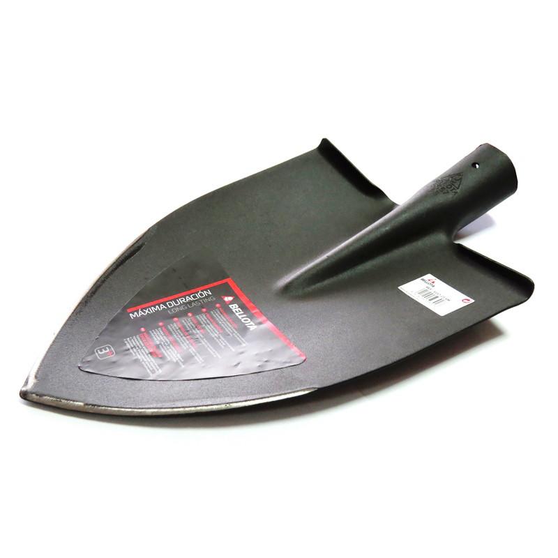 Лопата штыковая садовая без держака 220х300 мм