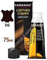 Водоотталкивающий Крем Для Обуви Tarrago Leather Cream, 75 мл,  цв. темно-коричневый