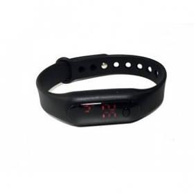 Наручные LED часы браслет DSC 319 Черные