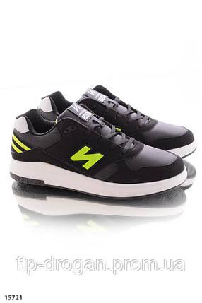 Мужские черные спортивные кроссовки! в наличии! новые! 43 р!, фото 2