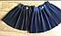 Школьная плиссированная юбка для девочки.6-11 лет, фото 3