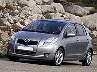 Реснички на фары Toyota Yaris хечбек 2005-2009 г.в. Тойота Ярис