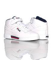 Мужские кроссовки Fila Original Fitness Premium белые высокие, фото 1