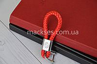 Брелок кожаный Mackses Renault Красный