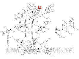 Башмак предплужника левый Kverneland, номер запчасти: 086851.P