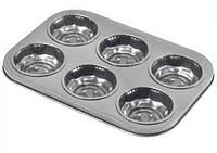 Форма для выпечки кексов, металлическая 38х26х4.5 см