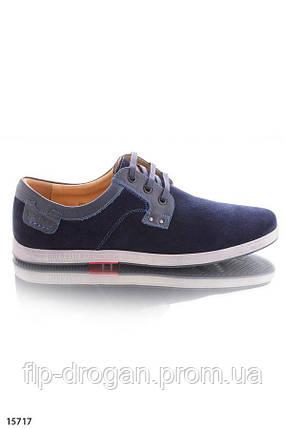 Синие туфли на шнуровке! в наличии! новые! 40 43 р!, фото 2