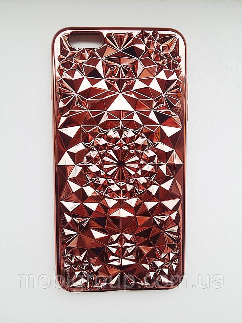 Силиконовый чехол Кристал iPhone 6 Plus