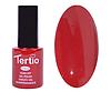 Гель лак Tertio 110, темный красный, 10мл