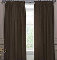 Комплект готовых штор венге софт, фото 1