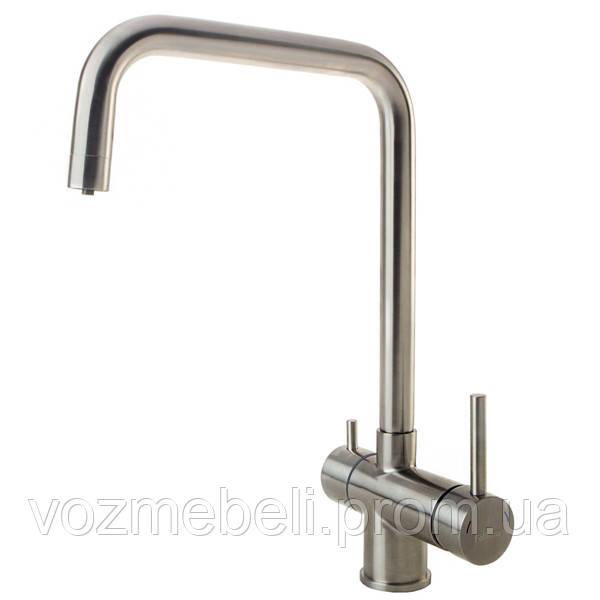 Кухонный смеситель комбинированный FKM-31.6 S/S  нерж