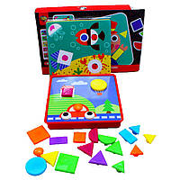 "Мозаика ""Геометрия"" Funning Game Time 3466 для изучения геометрических фигур , фото 1"