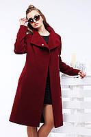 Оригинальное женское пальто под пояс